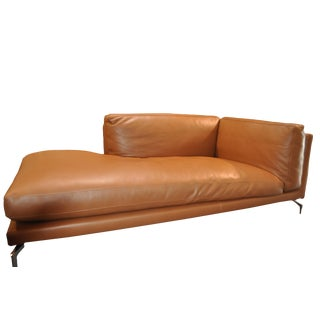 Modern Design Within Reach Leather Lounge Sofa For Sale