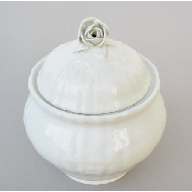 Ceramic Vintage KPM Bavarian Porcelain Jar For Sale - Image 7 of 7