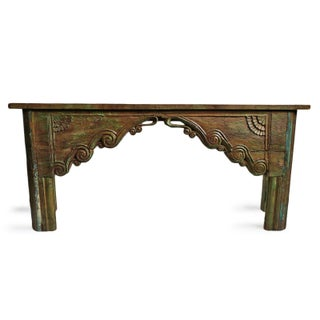 Vintage Architectural Console Table Preview