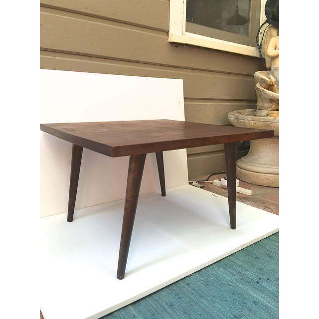 Mid-Century Modern Rosewood Side Table - Image 3 of 4