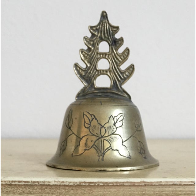 Oriental Petite Palace Brass Bell - Image 2 of 4