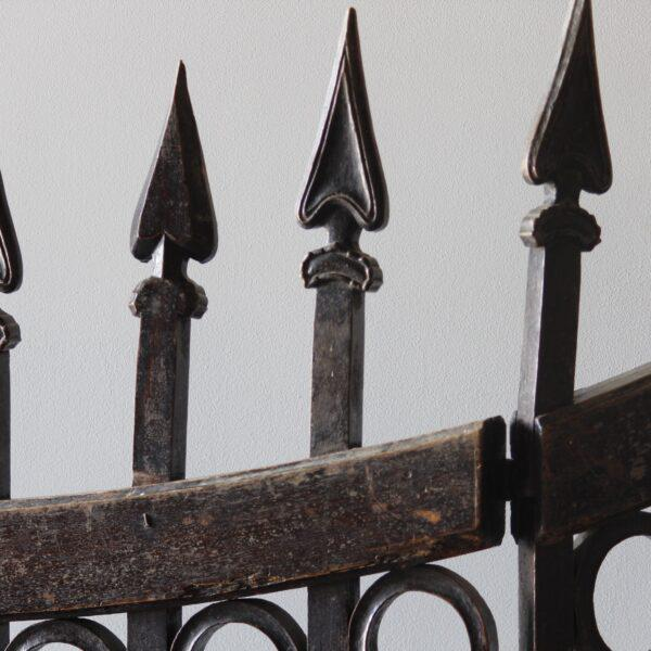 Mid 18th Century Mid 18th Century Wood Stable Gates - A Pair For Sale - Image 5 of 6