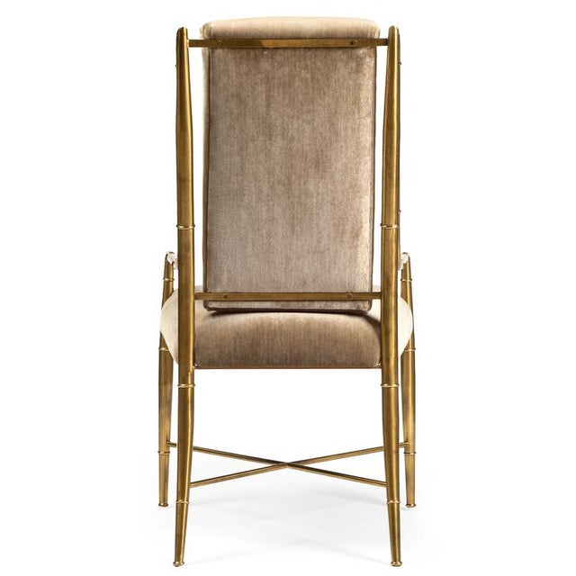 Mastercraft Weiman/Warren Lloyd for Mastercraft The Imperial Chair - Set of 8 For Sale - Image 4 of 7