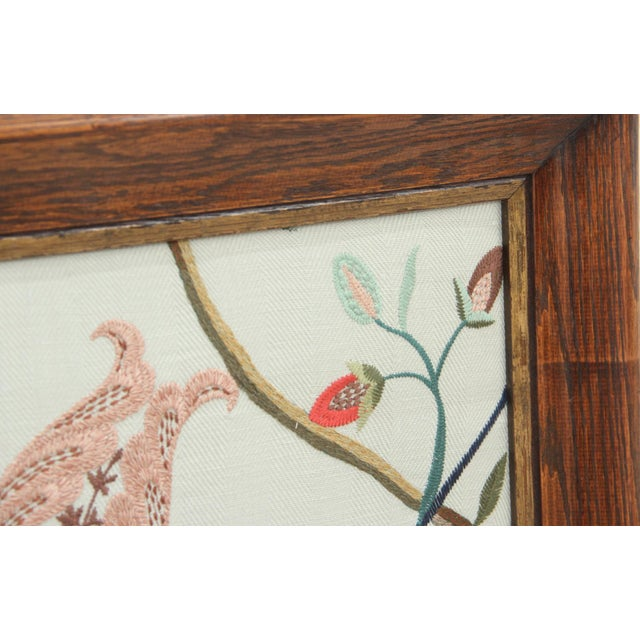 Early 21st Century Margot Sky Embroidered Panel For Sale - Image 5 of 6