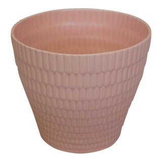 Dorothy Draper Style Pink Planter Pot For Sale