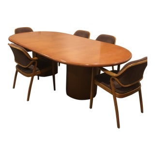 Knoll Conference Room Table Set For Sale