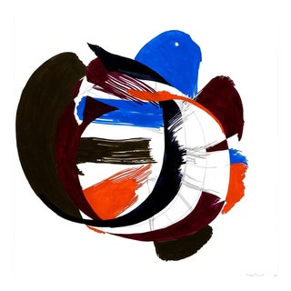 """Ellen Priest """"Jazz Cubano #53: Percussion Drawing"""", Painting For Sale"""