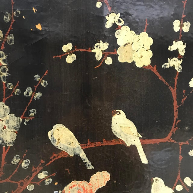 Pair of 19th Century Chinese Painted Cabinets For Sale - Image 9 of 11