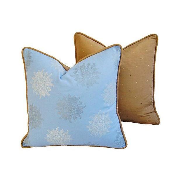 Designer Iman Lamu Twilight Aegean Pillows - Pair - Image 5 of 7
