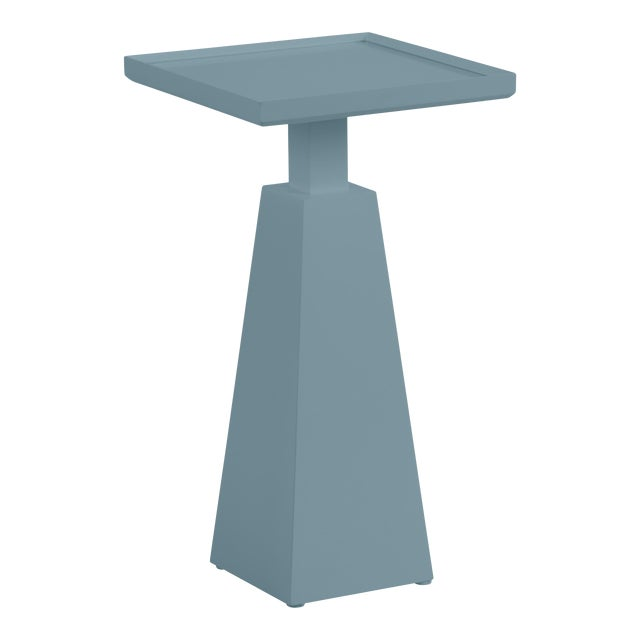Casa Cosima Hayes Spot Table, Chiswell Blue For Sale