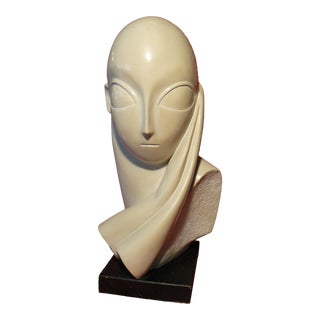 Mid 20th Century Plaster Sculpture For Sale