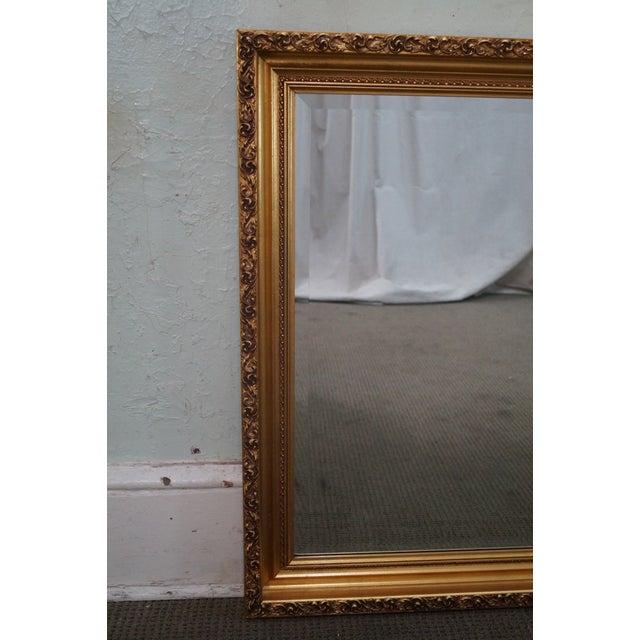 Gilt Frame Beveled Mirror - Image 8 of 10
