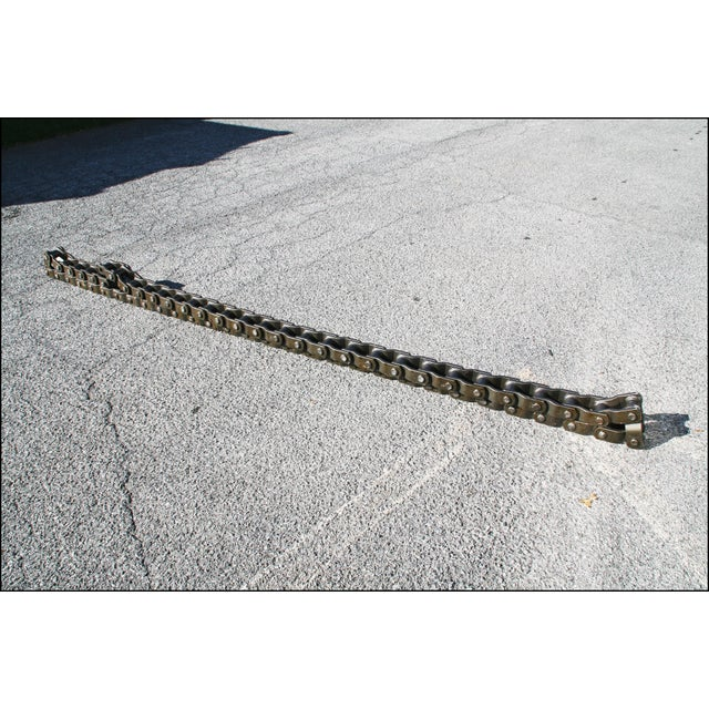 Vintage Industrial Roller Coaster Chain from Hershey Park - Image 9 of 11