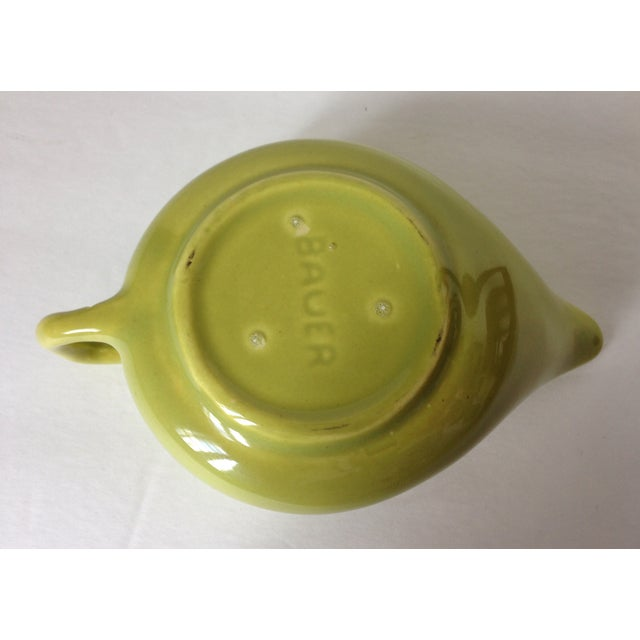 Vintage 50's Bauer Brusche Pottery Creamer For Sale - Image 4 of 4