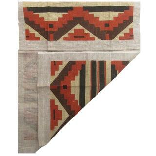 Vintage Southwestern Linen Tea Towel Preview