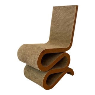 Modern Iconic Frank Gehry Wiggle Chair For Sale