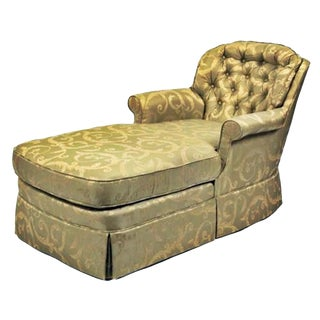 Skirted Chaise Longue