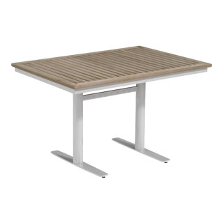 Rectangular Outdoor Bistro Table, Vintage For Sale