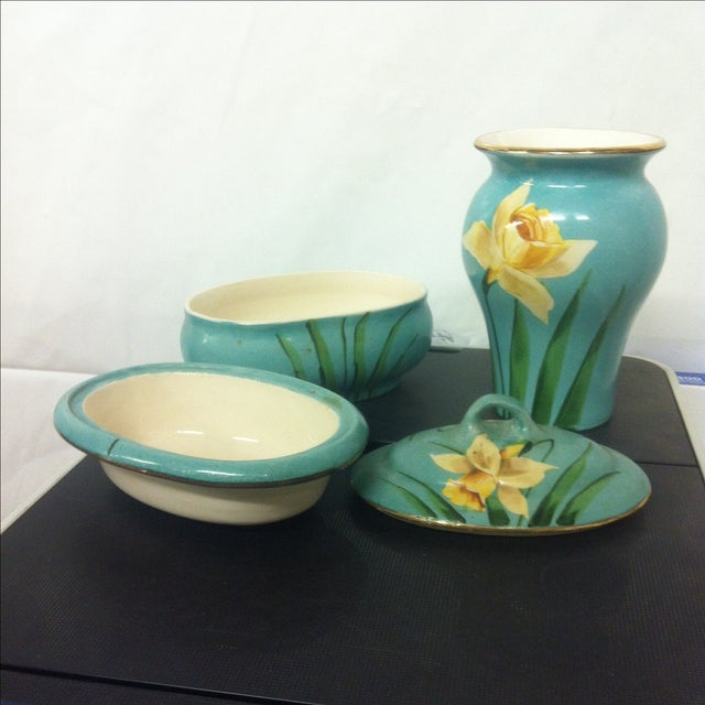 Early American Avon Pottery - A Pair - Image 4 of 7