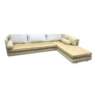 Vintage used sectional sofas chairish for Chaise nomade