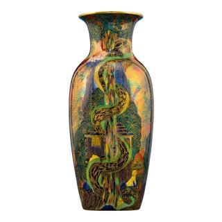 Tree Serpent Flame Fairyland Vase by Wedgwood