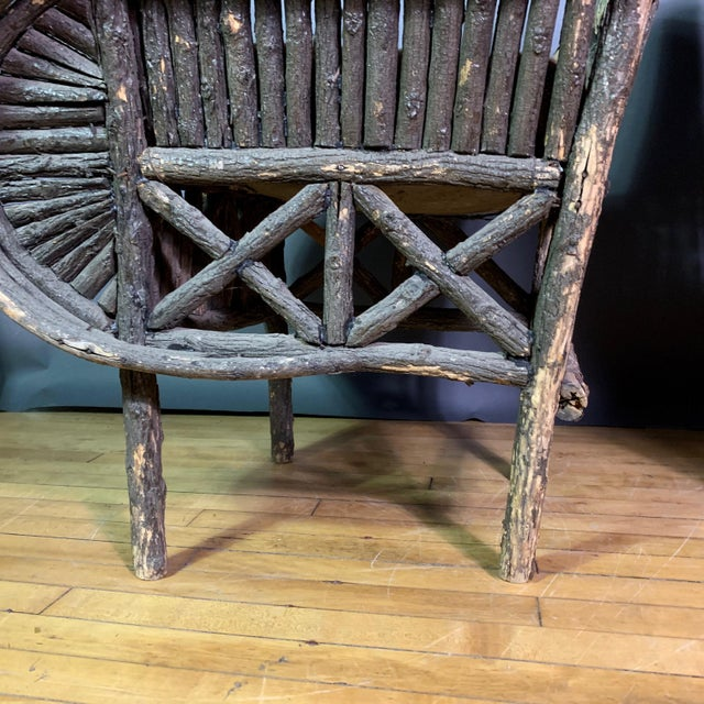 Pair of 1930s New Hampshire Adirondack Chairs For Sale - Image 9 of 12