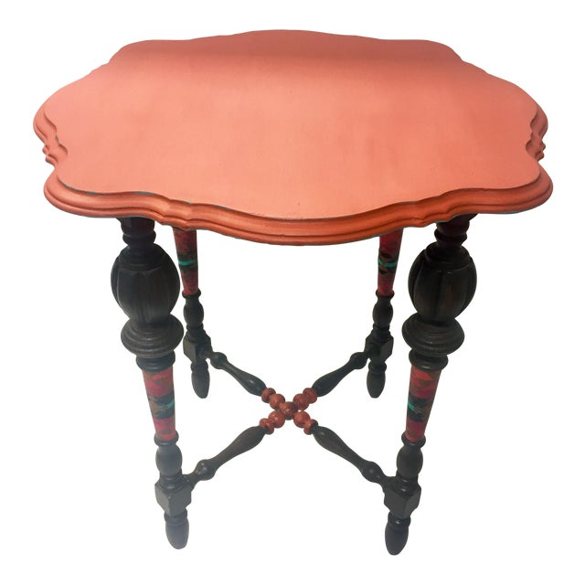 Orange Spice Accent Table - Image 1 of 8