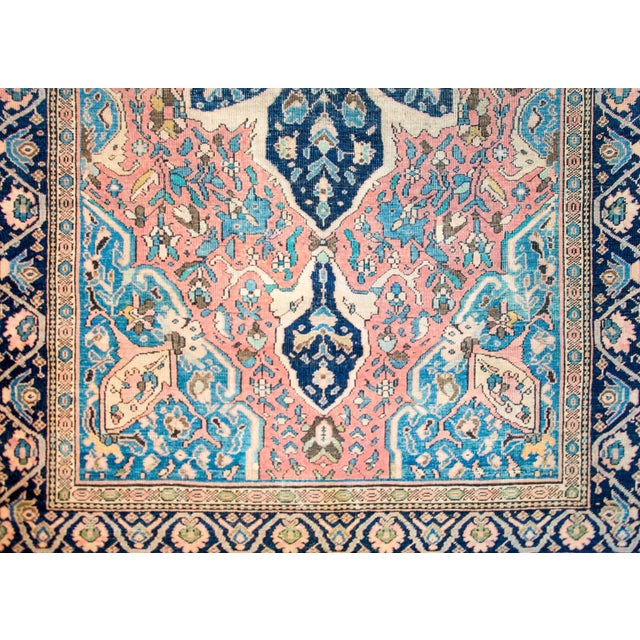 Islamic Exquisite Late 19th Century Sarouk Farahan Rug For Sale - Image 3 of 7