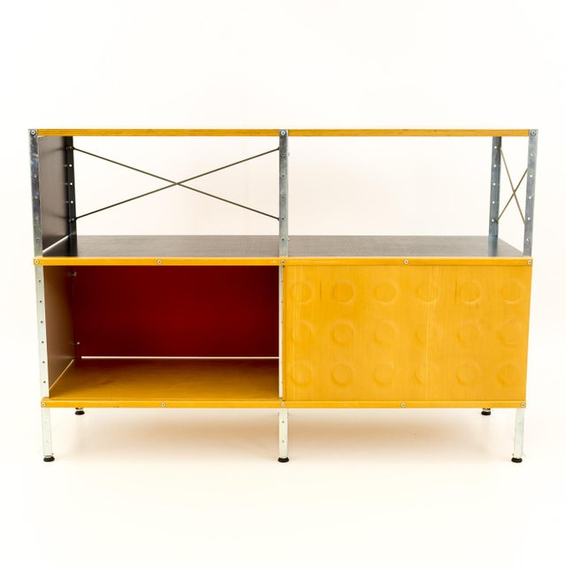 2000s Mid-Century Modern Charles and Ray Eames for Herman Miller Esu Storage Unit Shelves For Sale - Image 5 of 13