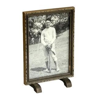 Framed Portrait of Baseball Player For Sale