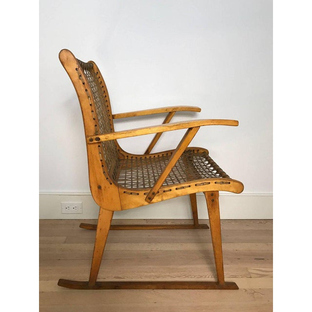Adirondack Vermont Tubbs Wood Armchairs - A Pair For Sale - Image 3 of 7