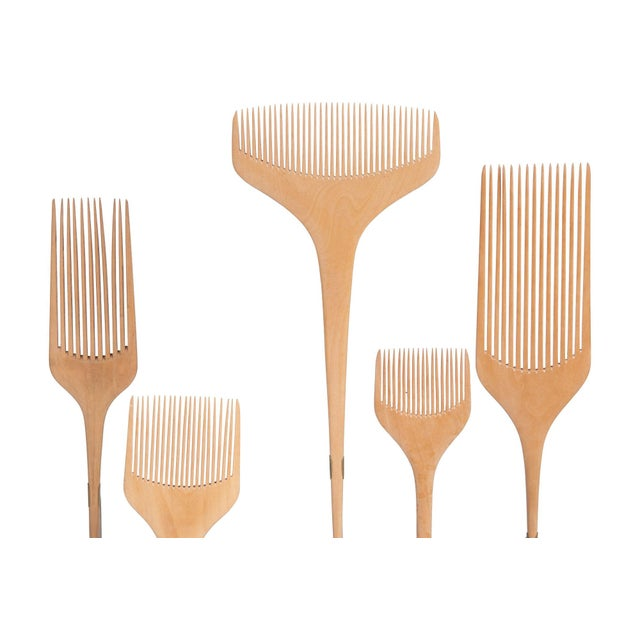 Japanese Combs - Set of 10 - Image 2 of 2