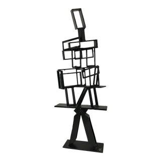 Brutalist Figurative Tabletop Sculpture For Sale