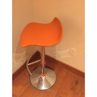 Orange Adjustable Bar Stool Preview