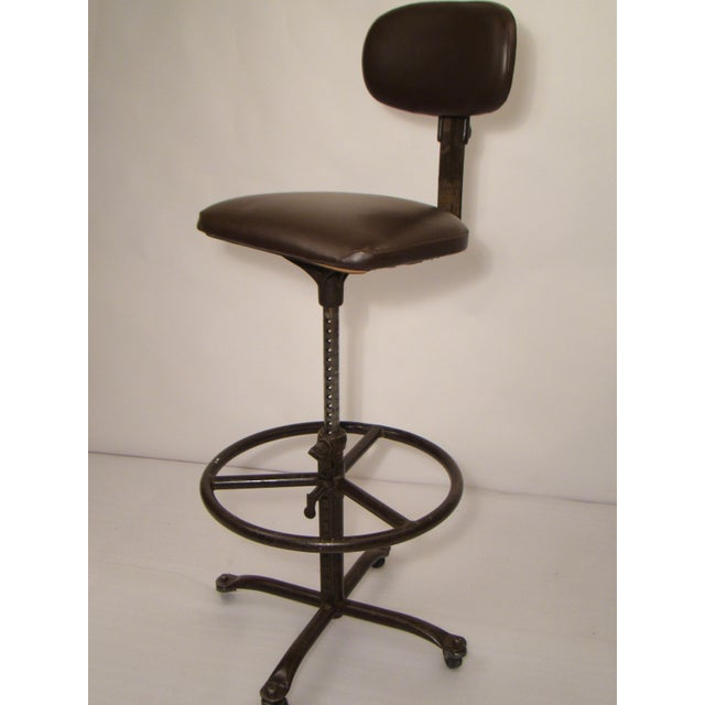 Vintage Fully Adjustable Cramer Drafting Chair For Sale - Image 10 of 10 - Vintage Fully Adjustable Cramer Drafting Chair Chairish