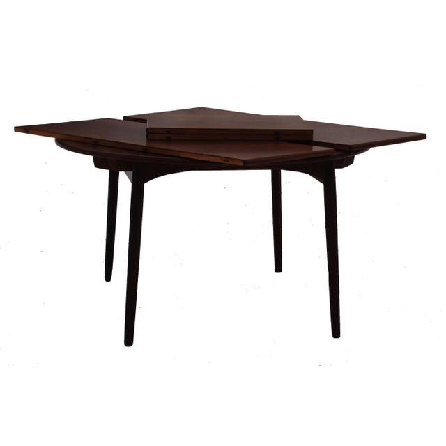 Danish Modern Mid-Century Danish Modern Table by Willy Beck For Sale - Image 3 of 10