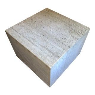 1960s Mid Century Modern Travertine Cubes For Sale