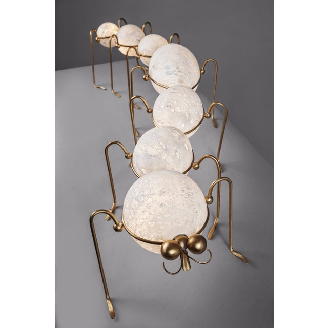 2010s Caterpillar, Floor Lamp Sculpture, Vincent Darré and Ludovic Clément d'Armont For Sale - Image 5 of 8