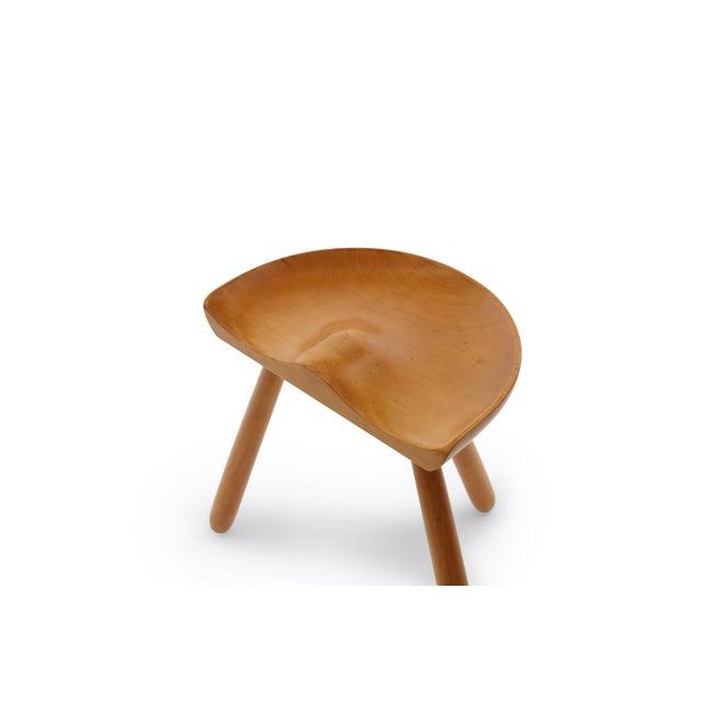 Mid-Century Modern 1960s Arne Hovmand Olsen Occasional Stool For Sale - Image 3 of 7