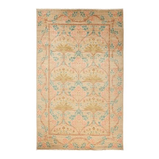 One-Of-A-Kind Patterned & Floral Handmade Area Rug - 5 X 8 For Sale