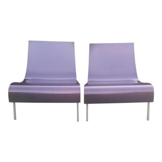 Barbara Barry for HBF Furniture Drape Chair - a Pair For Sale
