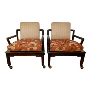 Widdicomb Far East Collection Occasional Chairs - a Pair