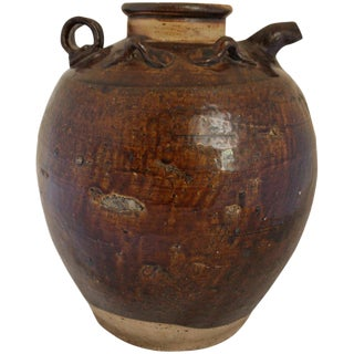 Song-Yuan Dynasty Water Pouring Jar (Kendi) For Sale