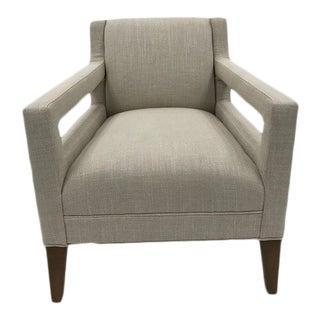 Modern Mitchell Gold Duke Chair For Sale