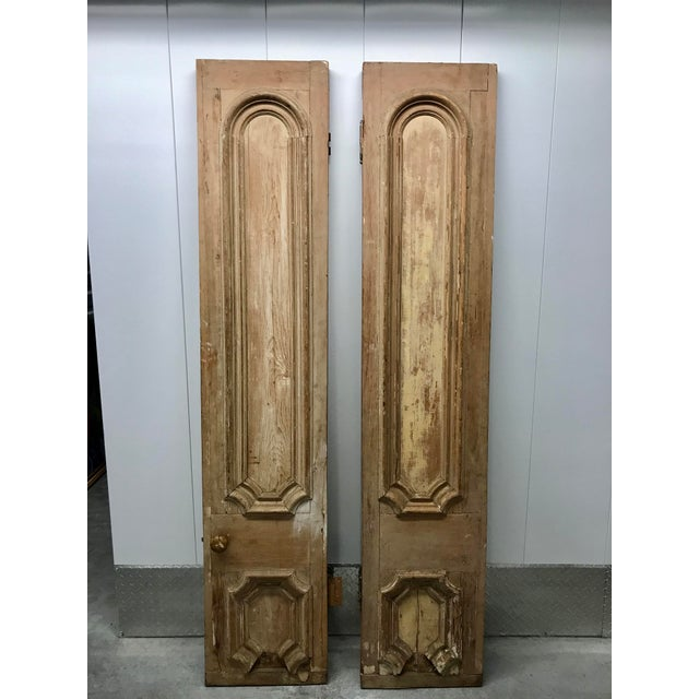 Own a piece of design history! These doors were purchased from a Tony Duquette sale. Beautiful hung on a wall as a...