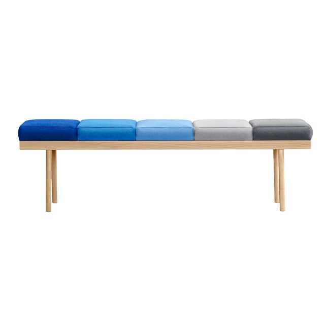 Not Yet Made - Made To Order Valentino Bench, Studio Missana For Sale - Image 5 of 6