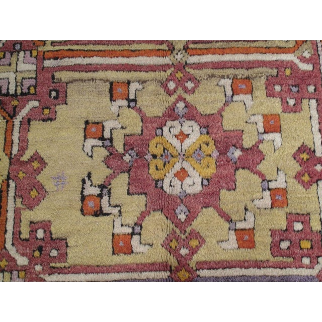 1940s Yuntdag Carpet For Sale - Image 5 of 9