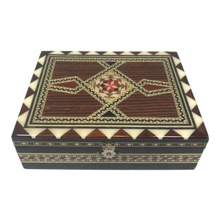 Decorative Middle Eastern Box For Sale