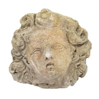 Antique French Reconstituted Stone Sculpture For Sale