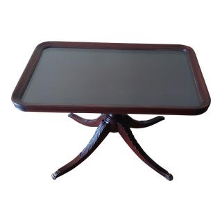 Imperial Furniture Company Mahogany Claw Foot Coffee Table